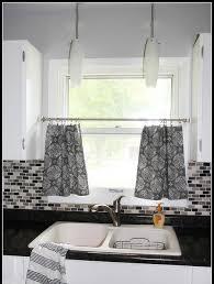 wondrous design ideas gray kitchen curtains decor