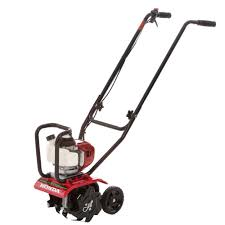 25 cc 4 cycle middle tine forward rotating gas mini tiller