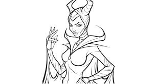 Maleficent Da Colorare Disney