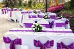 Свадебные украшения столы