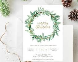 Holiday Party Invite | Etsy