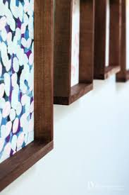 learn how to make picture frames for large prints easy diy frames tutorial