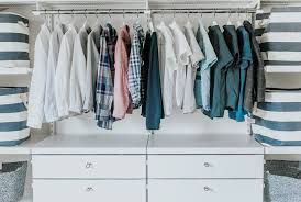 making one closet work for three