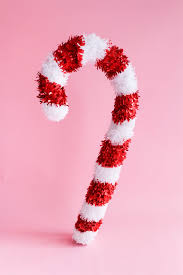 Large Candy Cane Decorations Giant Candy Cane DIY 57