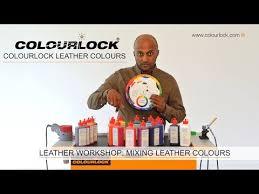 Leather Workshop Colourlock Leather Colours Youtube