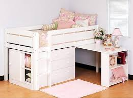 Children Beds with Storage Show You Many Functions, Benefits and Designs   Girl kids beds with table & storage