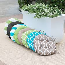 interesting outdoor bistro chair pads with top 25 best round seat cushions ideas on round garden