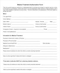 release of medical information template printable release form consent to medical information template