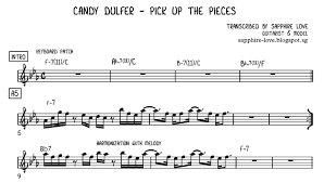 Pick Up The Pieces Chart
