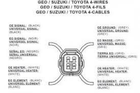 4 wire oxygen sensor diagram toyota wiring diagram oxygen sensor wiring diagram ford at O2 Sensor Wiring Diagram Toyota