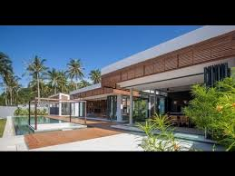 Contemporary Home Design with Modern Tropical and Minimalist Time Less  Architecture Style - YouTube