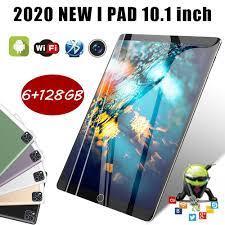 Máy tính bảng chơi game màn hình hd p20 android 9.0 octa lõi 10.1 inch, máy