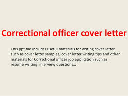 Correctional Officer Cover Letter Magdalene Project Org