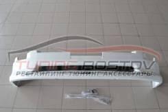 <b>Накладка</b> (<b>губа) на</b> передний бампер стиль Modellista LC200 12 ...