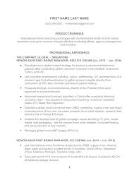 Product Manager Resume Samples Beauteous Product Manager Resume Example Kenicandlecomfortzone