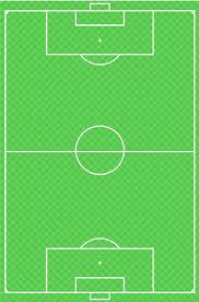 Football Field Court Chart Rangers F C Football Pitch