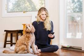 wayzn remote sliding glass door opener remotely open door to let dog outside
