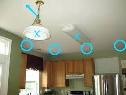 installing chandelier