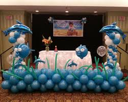 Sports Themed Balloon Decor Birthday Party Balloon Decorations Balloons By Design
