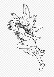 coloring book drawing elf fairy legendary creature magic book
