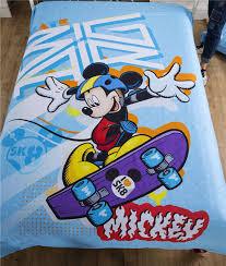 mickey mouse ensemble de literie pour gar on de home decor light