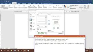 di word cara membuat bingkai microsoft word 2016 youtube