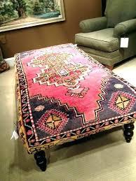 rug covered ottoman rug ottoman coffee table rug covered ottoman upholstered coffee table decoration day coffee rug covered ottoman