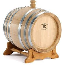 oak wine barrels. oak wine barrel on stand barrels