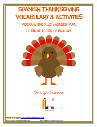 Lizs Lessons French And Spanish Thanksgiving Themed