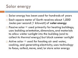 chapter topics iuml uml the major sources of renewable energy 5 solar energy