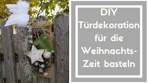 Türschmuck Selber Machen Wanddekoration Weihnachten Auf Holzbrett Diy Deko Idee