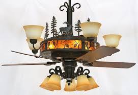 pinecones chandelier ceiling fan