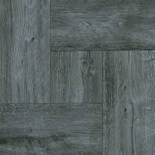 trafficmaster grey wood parquet 12 in x 12 in residential l and stick vinyl tile 30 sq ft case