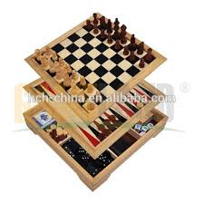 Wooden Multi Game Board Classy Deluxe 32 In 32 Wooden Chess Game SetWooden Multi Game BoxChess Wood