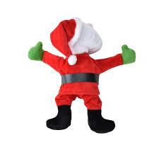 Weihnachtsmann Am Fenster Tanzend 30cm Weihnachts Deko Weihnachten