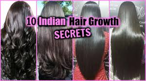10 Indian Hair Growth Secrets How To Grow Long Thick Shiny