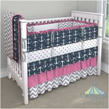 blue crib bedding unforgettable custom nursery bedding navy anchor carousel designs and unique baby 1000 pixels