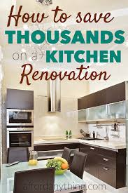 Renovations Rental The Kitchen Income To Guide 's Cheapskate pUYrwAYX