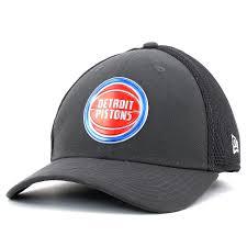 Detroit Pistons On Court 39thirty Flexfit Cap Vintage Detroit