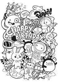 Small Picture Doodle coloring pages happy birthday ColoringStar