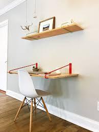 DIY Hairpin Legs Shelf Brackets Pair of Floating Desk Brackets - 22