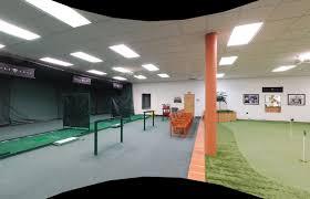 Driving Range Design Indoor Golf Driving Range And Putting Green Garage Ideas