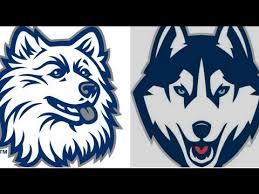 new uconn husky logo promotes