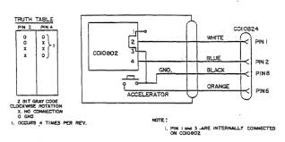 atari driving controller driving controller schematic wiring pinouts