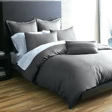 charcoal grey duvet cover quilt set solid gray comforter sets men bedding dark