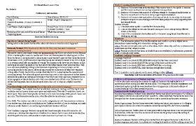 Sample Teacher Lesson Plan Template Stunning ELA Lesson Plan Example Ms Nichols' Teaching Portfolio