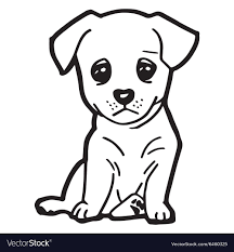 Awesome Cute Dog Coloring Pages Printable For Amusing Cute Dog