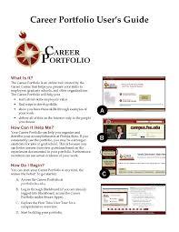 Sample Work Portfolio Template Inspirationa Resume Portfolio