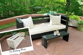 diy outdoor sofa. Diy Outdoor Sofa O