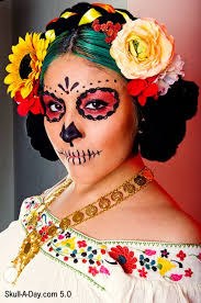 sugar skull makeup that doesn t require a white base